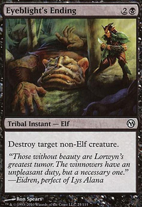 green white token deck edh eyeblight s ending mtg card