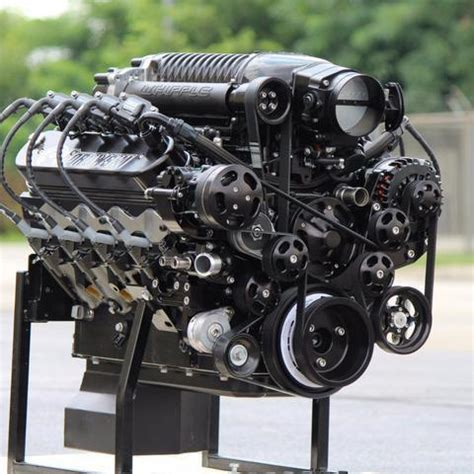 1 075 horsepower whipple supercharged ls engine includes serpentine s borowski race engines