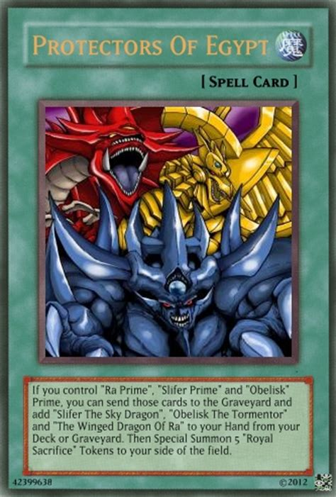 Egyptian God Card(s) Continuation  Advanced Card Design
