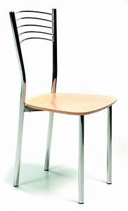 Chaise Metal Pas Cher : chaises cuisine chaise en bois chaise mobilier cuisine ~ Teatrodelosmanantiales.com Idées de Décoration