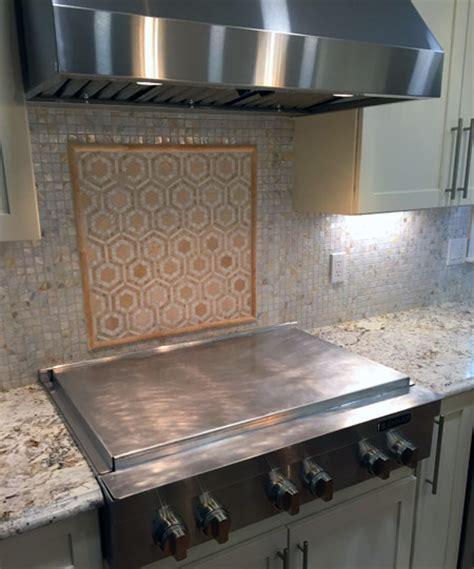 Kitchen Splash Guard Ideas - combination burner cover and backsplash