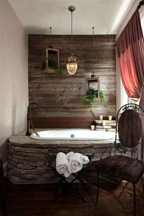 rustic bath tubs rustic bathroom or jacuzzi on the back porch for the home pinterest bathtubs rustic and bath