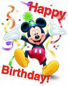 Mickey Mouse Geburtstag : mickey mouse happy birthday happy birthday mickey pictures browse our great collection of ~ Orissabook.com Haus und Dekorationen