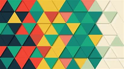 Triangle Pattern Geometric Background Wallpapers 4k Abstract