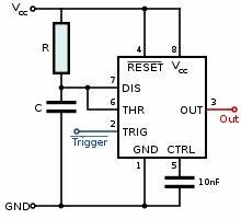 555 timer ic wikipedia With 555 timers
