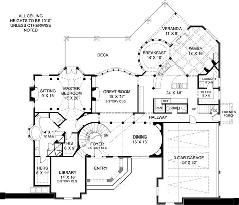 blueprints homes pontarion ii 6002 4 bedrooms and 4 baths the house