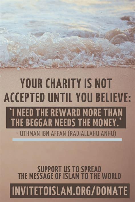 charity  islam quotes quotesgram