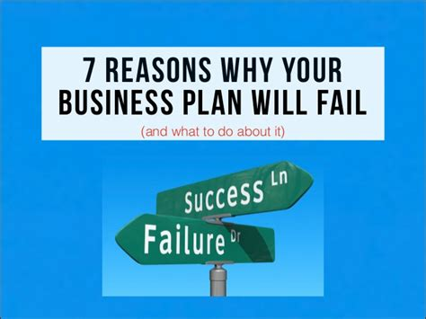 7 Reasons Why Your Plan Will Fail (and What To Do About It