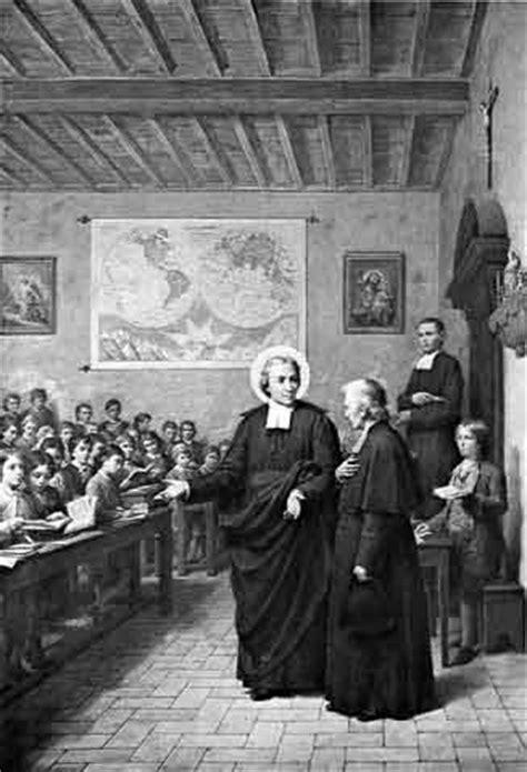 st baptiste de la salle iconographie chr 201 tienne jean baptiste de la salle pr 234 tre fondateur et confesseur