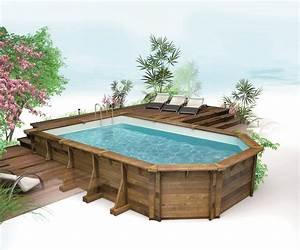 Piscine Semi Enterré Bois : kit piscine bois semi enterree piscine semi enterr e ~ Premium-room.com Idées de Décoration