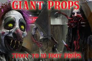 Giant, Sized, Props