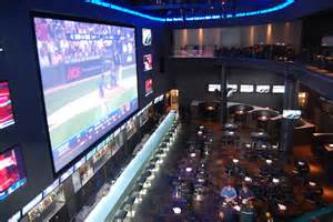 kitchen idea gallery real sports bar and grill features an hd screen that is two storeys