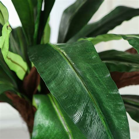 Large Artificial Tropical Leaf Branch  Craft Supplies