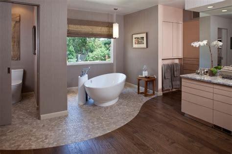 Badezimmer Ideen Holz badezimmer ohne fliesen mal anders gestalten 26 ideen