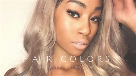 Unique Hair Colors For Skin by 30 Hair Colors For And Skin Tones Belletag
