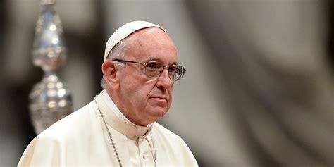 siege du pape le pape rappelle les lignes directrices de la diplomatie