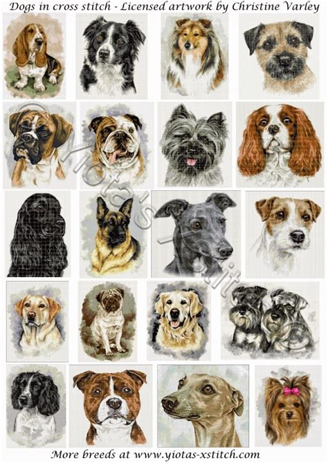 cross stitch dogs  cross stitch patterns