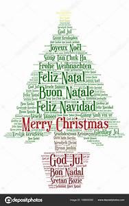 Wrter Wolke Frohe Weihnachten In Allen Sprachen Der Welt