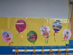 Décoration Porte Manteau Maternelle : ballons couverture cahier tiquette pour porte manteau ~ Dailycaller-alerts.com Idées de Décoration