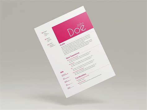 free 3 cv resume templates stockindesign