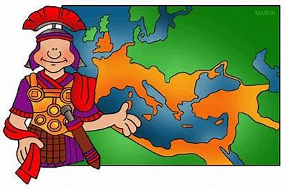 Rome Ancient Empire Soldier Roman Clip Map