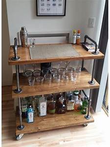 Möbel Aus Rohren : diy industrial bar cart diy pinterest barw gen ~ Michelbontemps.com Haus und Dekorationen