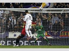 Real Madrid 11 Manchester United Ronaldo scores and