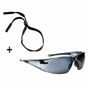 Lunette De Soleil Verre Transparent : lunette de s curit rush boll fum e transparent noir rushpsf ~ Melissatoandfro.com Idées de Décoration