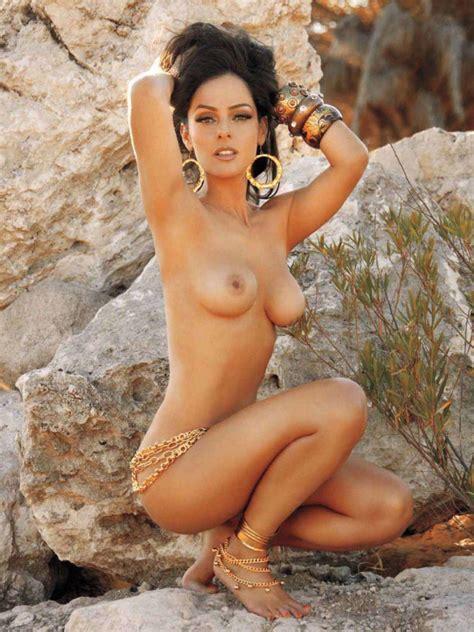 Naked Andrea Garca In Playboy Magazine