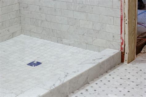 Carrara Marble Tile Floor by Carrara Bianco Honed Octagon Bardiglio Gray Dot
