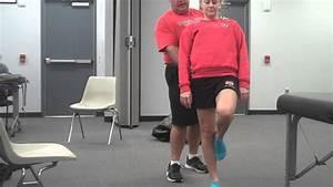 Single Leg Stance or Stork Standing Test - YouTube