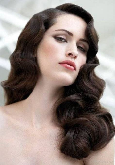 vintage curly hairstyles    timeless gatsby