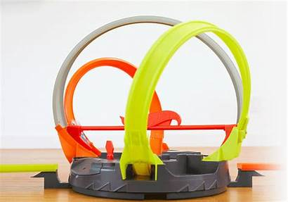 Wheels Track Loop Roto Hotwheels Cars Rotating