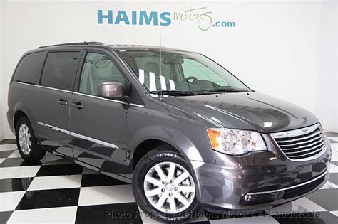Chrysler Town And Country Touring by 2016 Used Chrysler Town Country 4dr Wagon Touring At