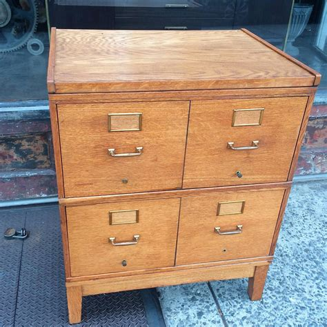 mid century file cabinet mid century english oak modular file cabinet for sale at