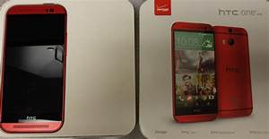 Here Is Verizon U0026 39 S Htc One  M8  In Red  Should Be Here Thursday
