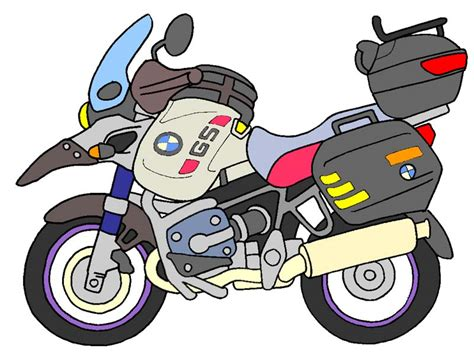 Motorcycle Cartoons
