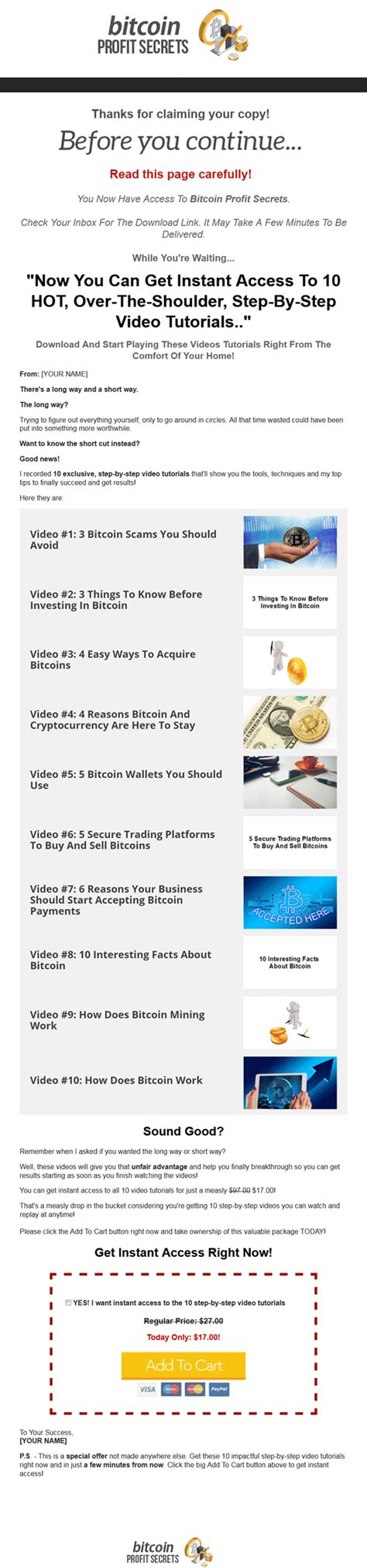 bitcoin profit bitcoin profit secrets ebook and with master resale