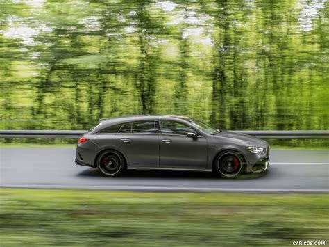 The cla 45 s 4matic+ shooting brake requires just 4.0. 2020 Mercedes-AMG CLA 45 S 4MATIC+ Shooting Brake - Side ...