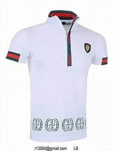 Marque De Polo Homme Luxe : t shirt gucci blanc achat t shirt de marque t shirt gucci pas cher ~ Nature-et-papiers.com Idées de Décoration