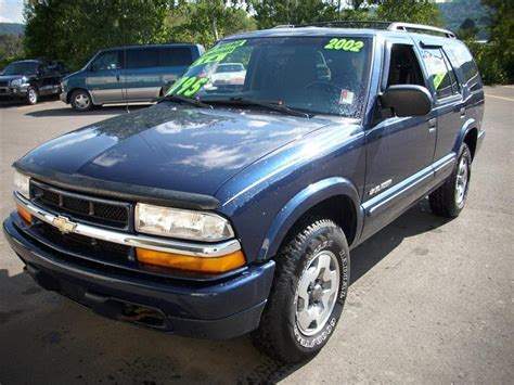 2002 Chevrolet Blazer  Information And Photos Zombiedrive