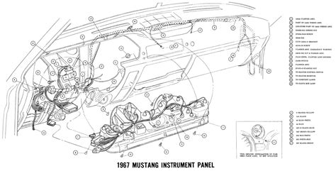 Free Auto Wiring Diagram Ford Mustang Instrument Panel