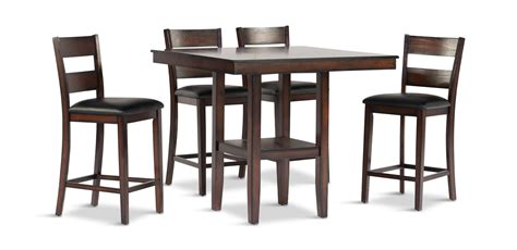Dining Table With Stools by Pendleton Dining Table With 4 Counter Stools Hom Furniture