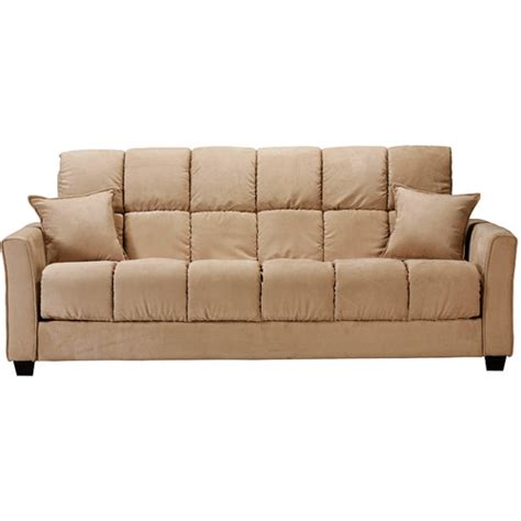 sofa beds at walmart baja khaki sofa bed walmart
