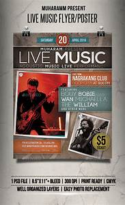 Live Music Flyer / Poster by muharamm | GraphicRiver