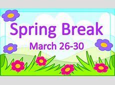 No hay clases Vacaciones de primavera Lafayette