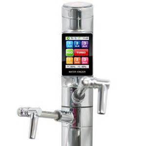 kitchen faucet water purifier tyent touchscreen water ionizer purifier high tech clean water technabob