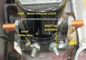 Oem Meyer Plow Motor Solenoid 15370