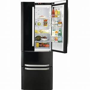 Hotpoint Ffu4d K Fridge Freezer - Black