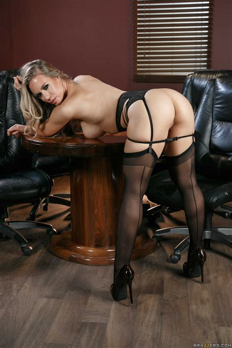 Gorgeous Blonde Is Wearing Erotic Lingerie Photos Nicole
